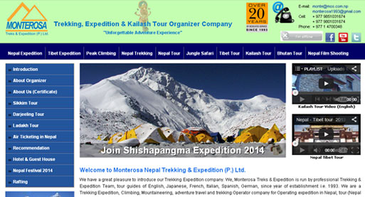 Monterosa Treks & Expedition, Nepal Expedition, Nepal Peak Climbing